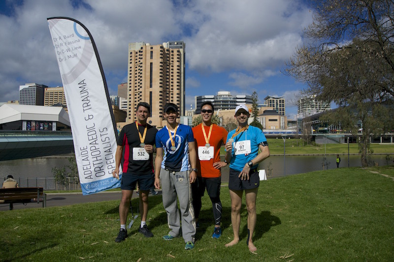 Adelaide Orthopaedics runs for charity